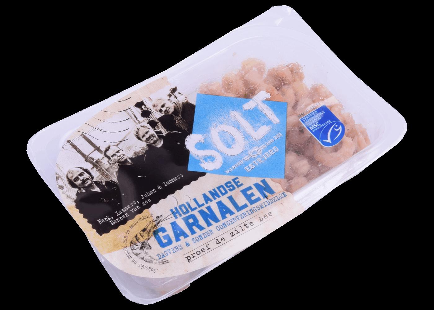 Productafbeelding SOLT HOLLANDSE GARNALEN CV 90 GRAM MSC