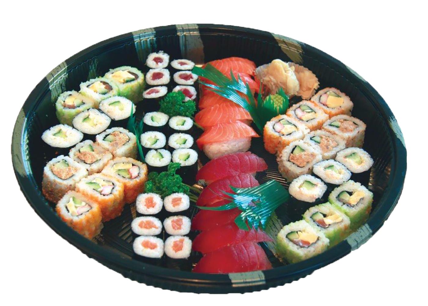 Productafbeelding SUSHI COMBI PLATEAU 52 STUKS