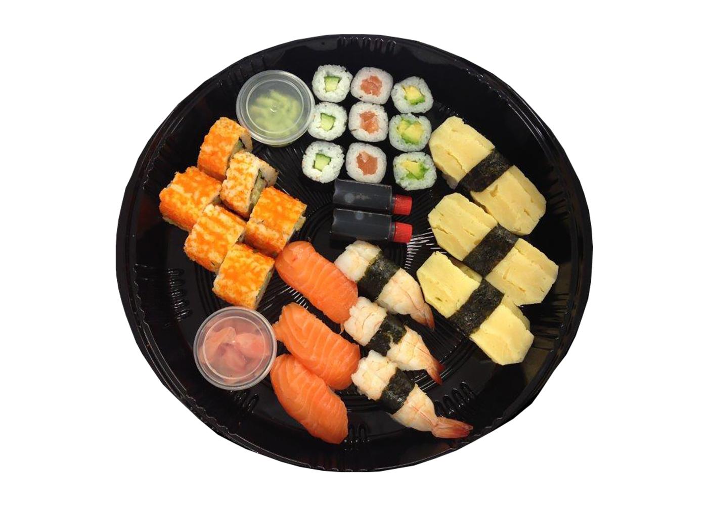 Productafbeelding SUSHI MIXED 24 STUKS HANOS (1001)