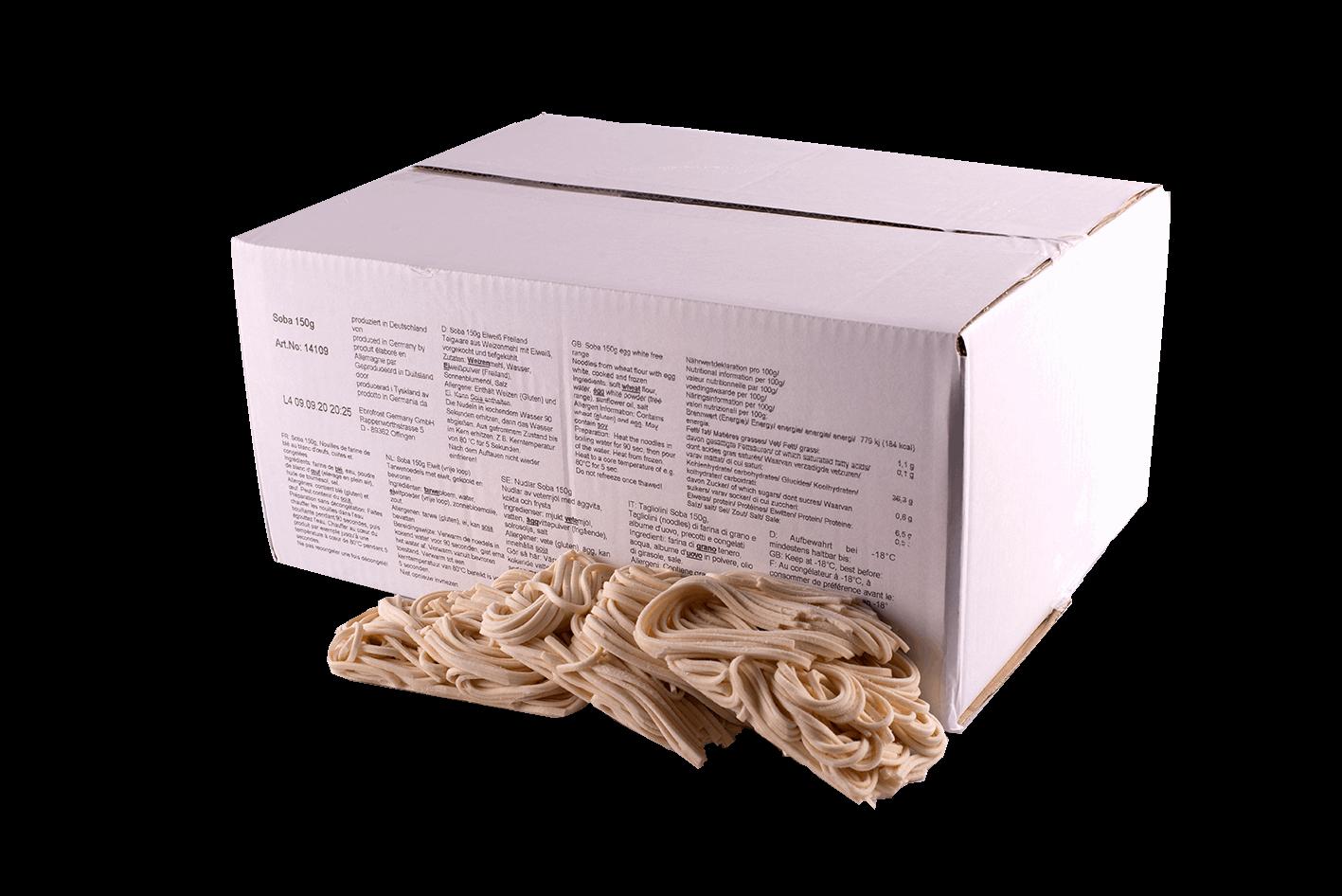 Productafbeelding SOBA NOODLES 150GR. BOX 5KG KELLY DELI