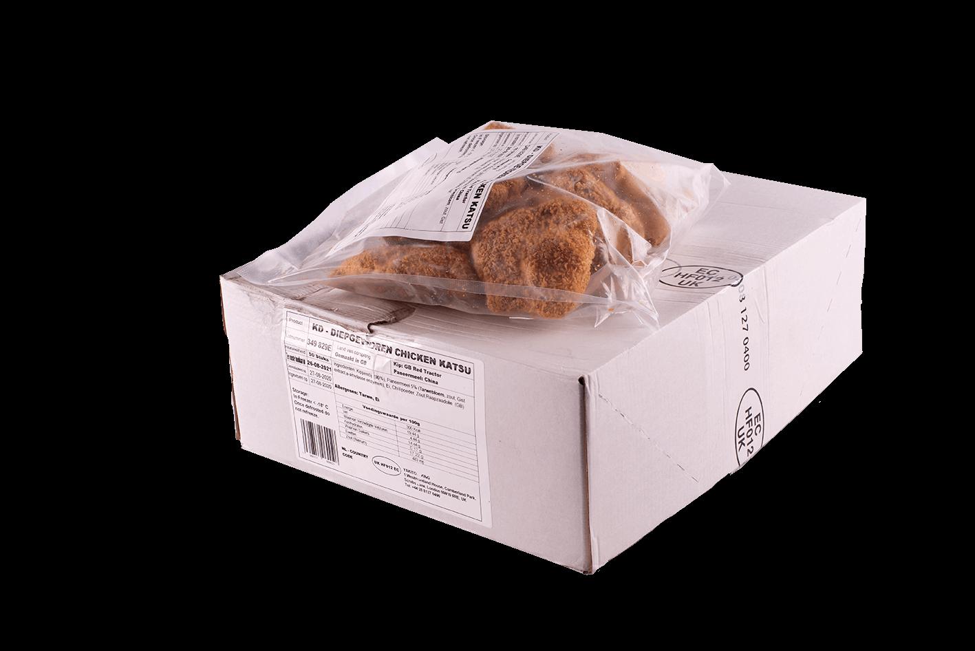 Productafbeelding DEEP FRIED CHICKEN KATSU BOX 50 PIECES