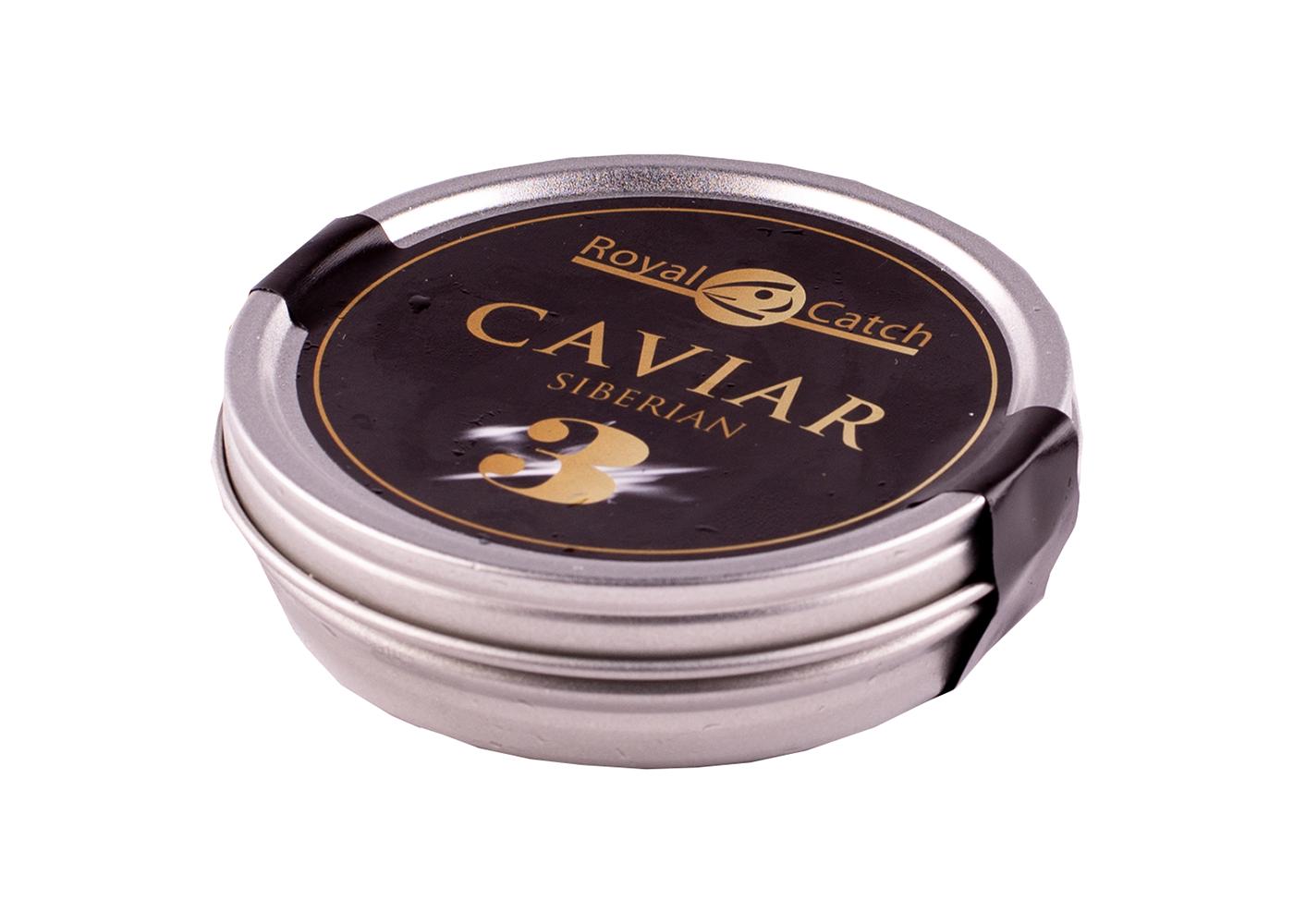 Productafbeelding CAVIAR SIBERIAN NR. 3 - 125 GRAM