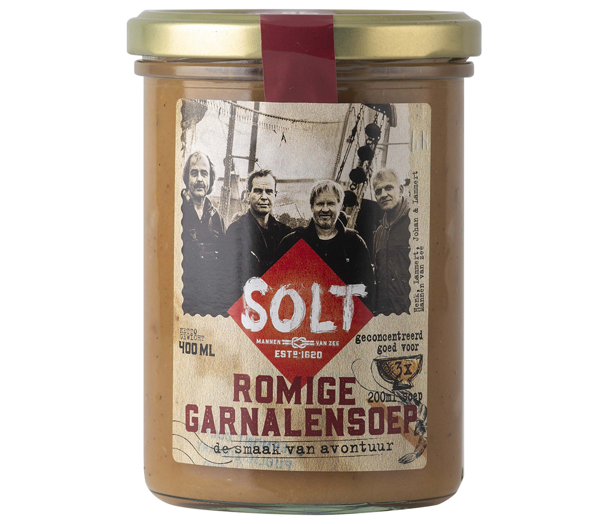 Productafbeelding SOLT ROMIGE GARNALEN SOEP
