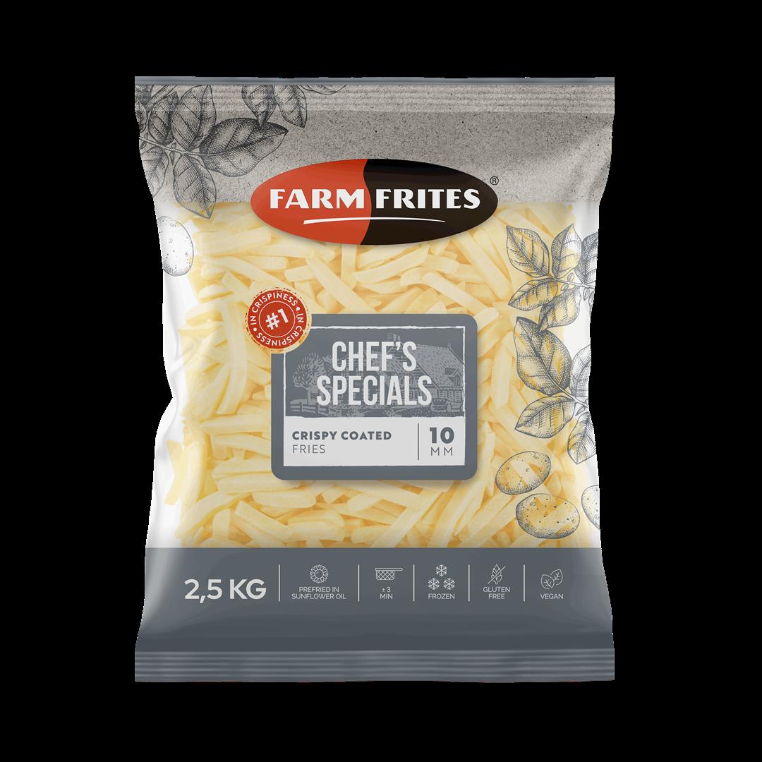 Productafbeelding Farm Frites Crispy coated fries 2500 gram