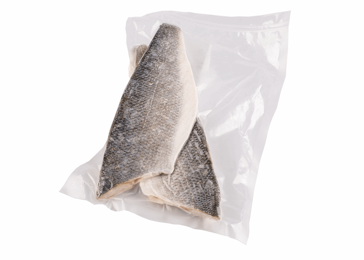 Productafbeelding SEABASS FILET WILD SKIN ON FROM 3KG