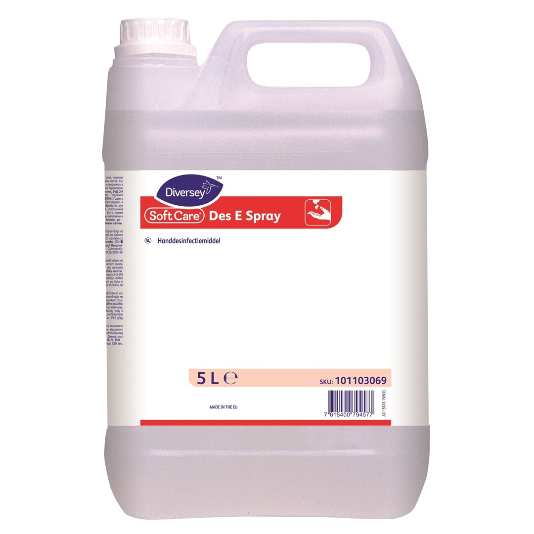 Productafbeelding Soft Care Des E Spray 2x5L NL
