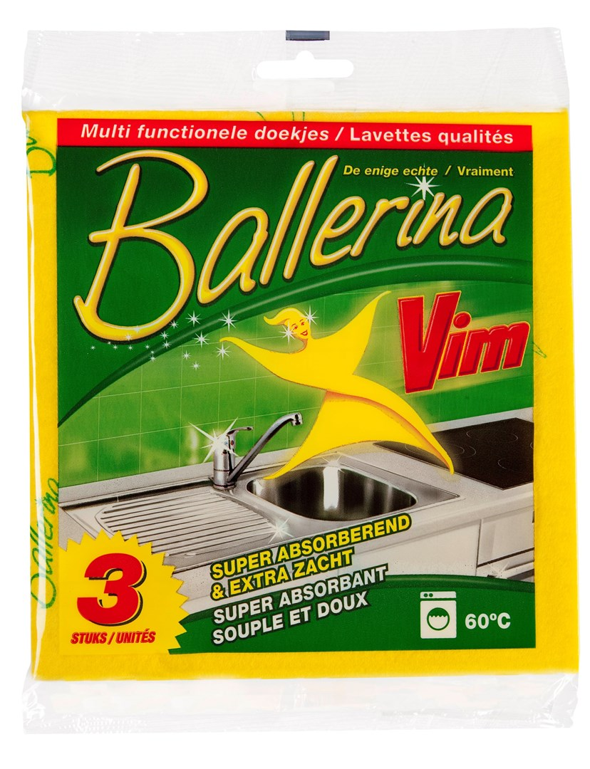 Productafbeelding Ballerina Doekjes 15x3pc NL