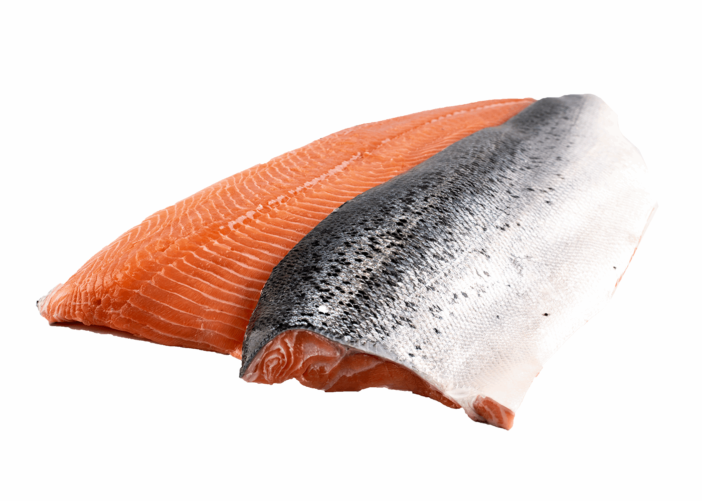 Productafbeelding SALMON FILLET SCOTLAND SKIN ON SCALES OFF 4-5KG FROZEN