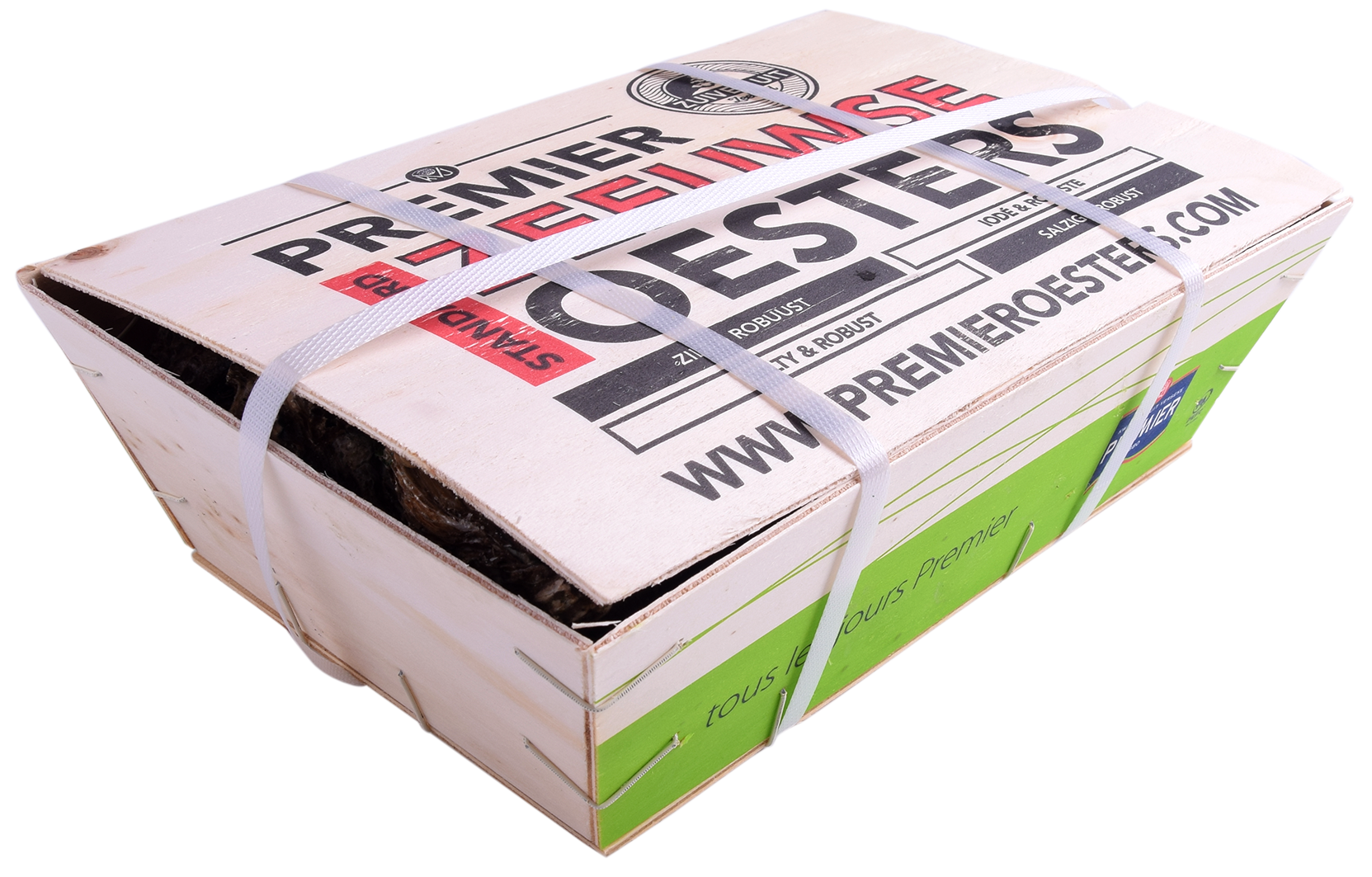 Productafbeelding OYSTERS PACIFIC, SIZE: 3, BASKET 50 PIECES