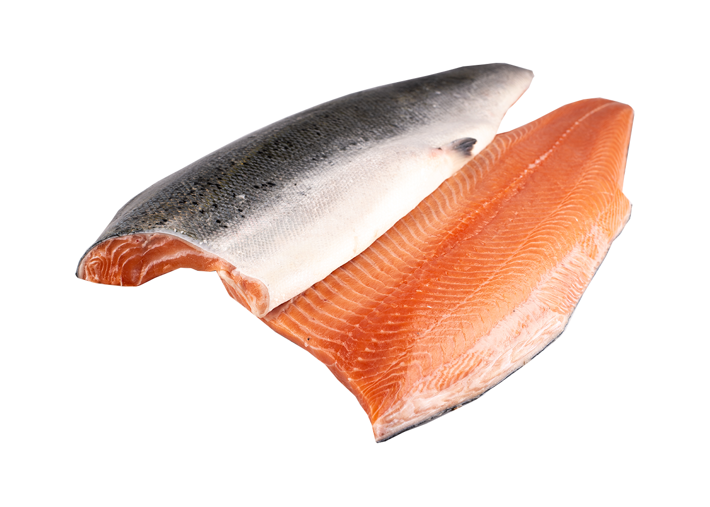 Productafbeelding SALMON FILLET SKIN ON SCALES OFF 6-8 KG.