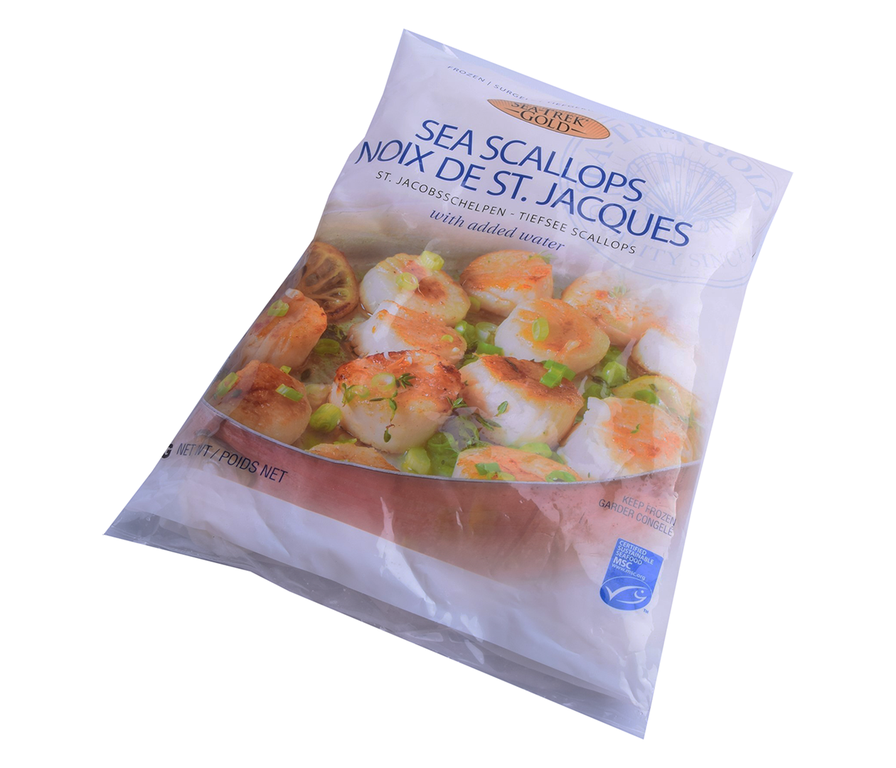 Productafbeelding SCALLOPS CLEARWATER MSC 10/20 BAG 1KG.