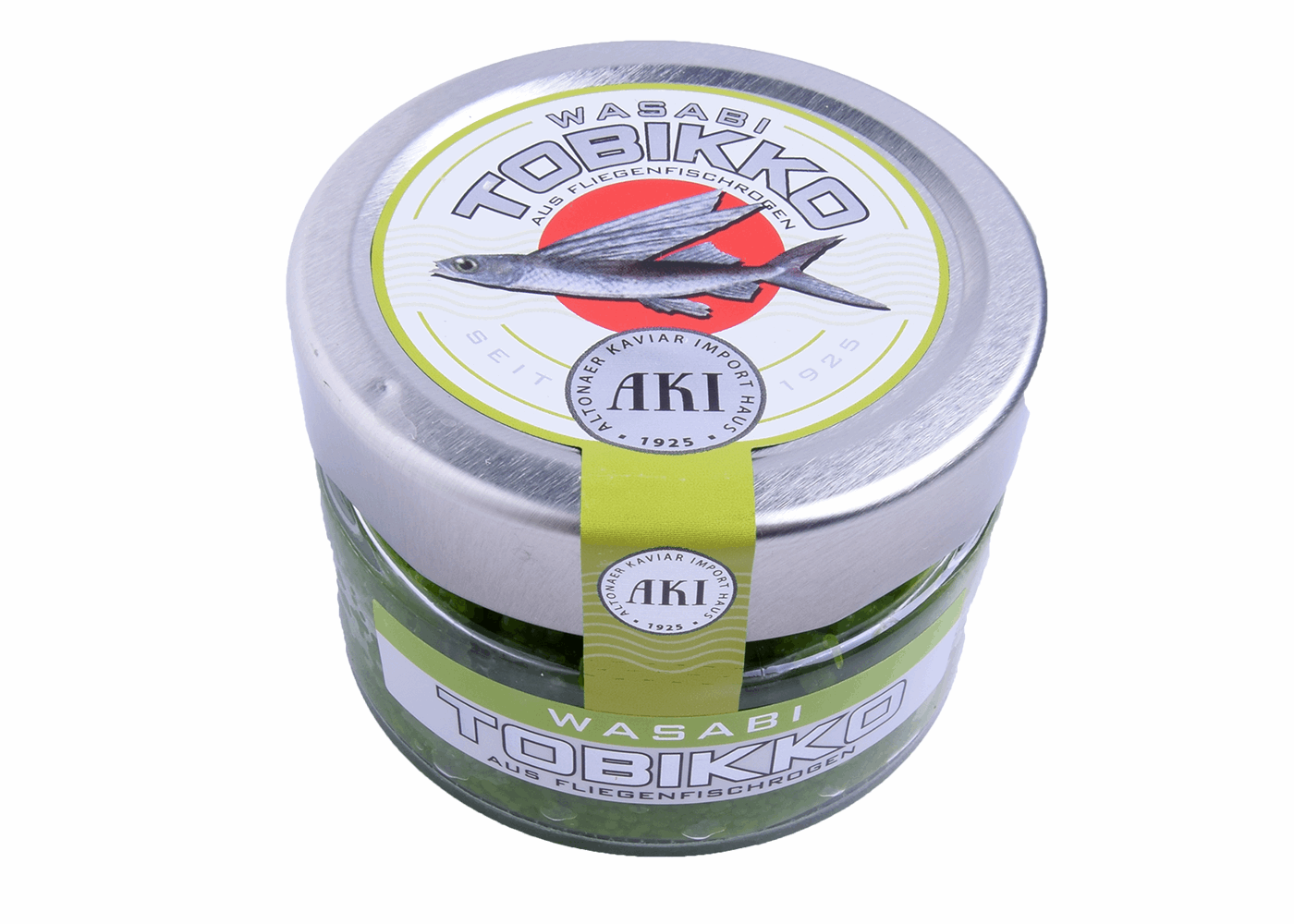 Productafbeelding TOBIKO FRESH, COLOUR: GREEN PACKAGING: 90 GR.