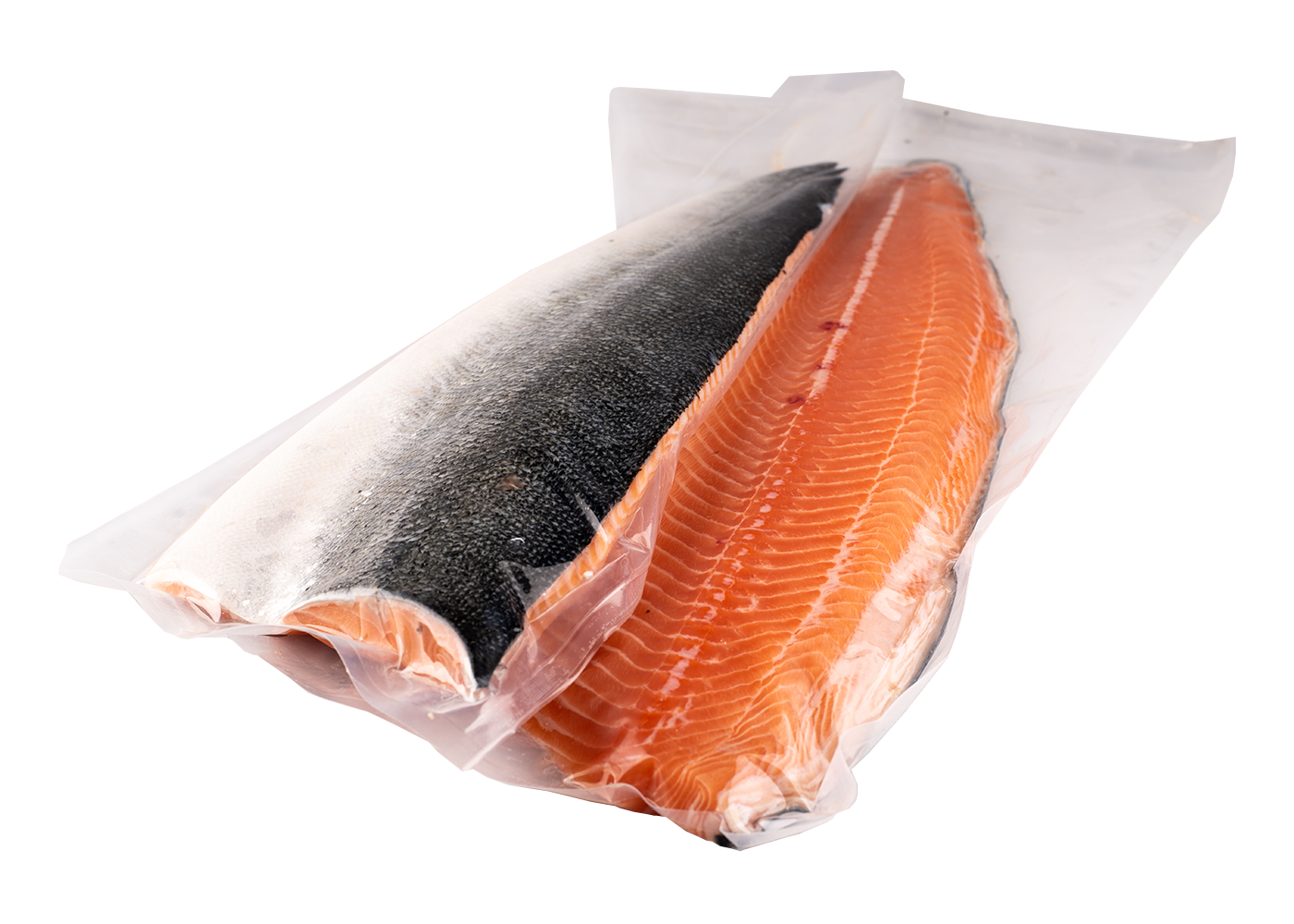 Productafbeelding Salmonfillet skin on scales of from 4-5kg, vac. FZ