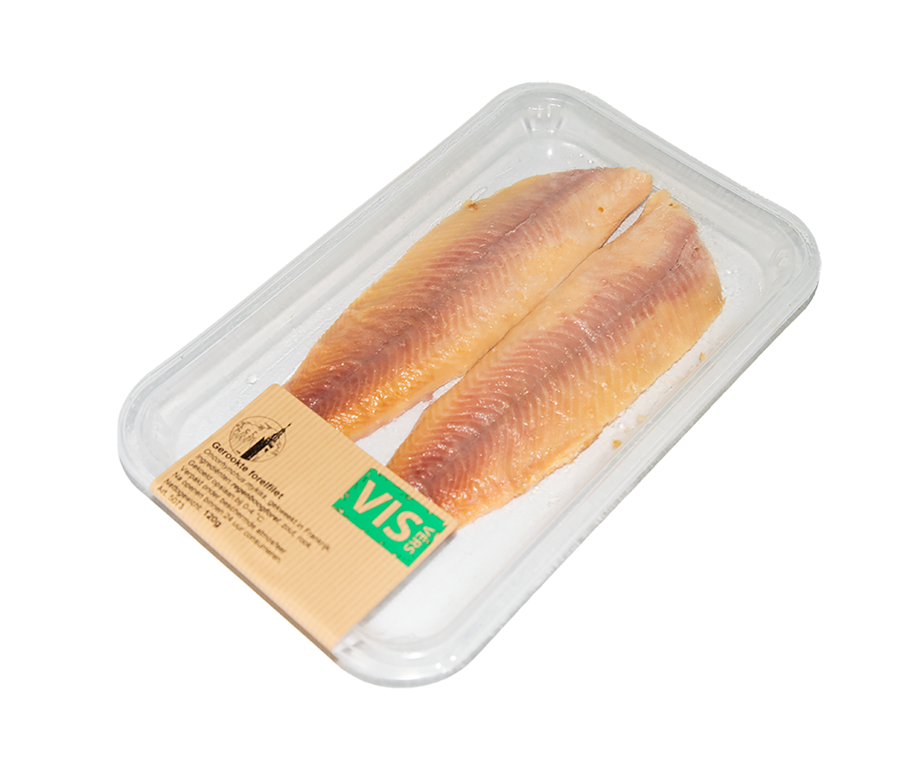 Productafbeelding SMOKED TROUT FILETS 120 GR