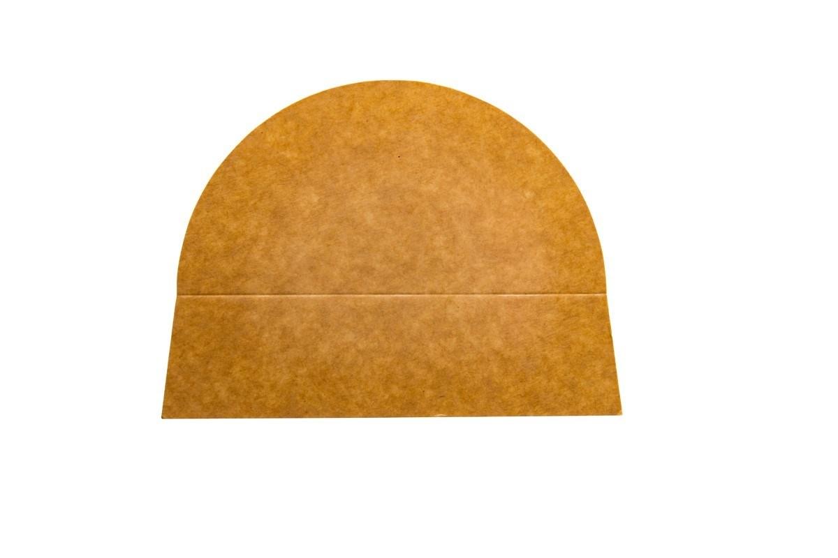 Productafbeelding 2-vaks papieren deksel verdeler 500 ml 250 st