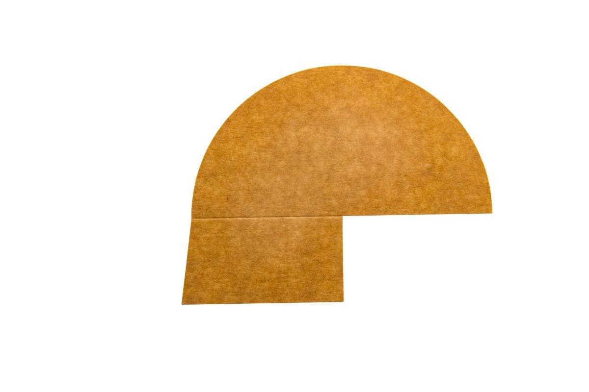 Productafbeelding 3-vaks papieren deksel verdeler 500 ml 250 st