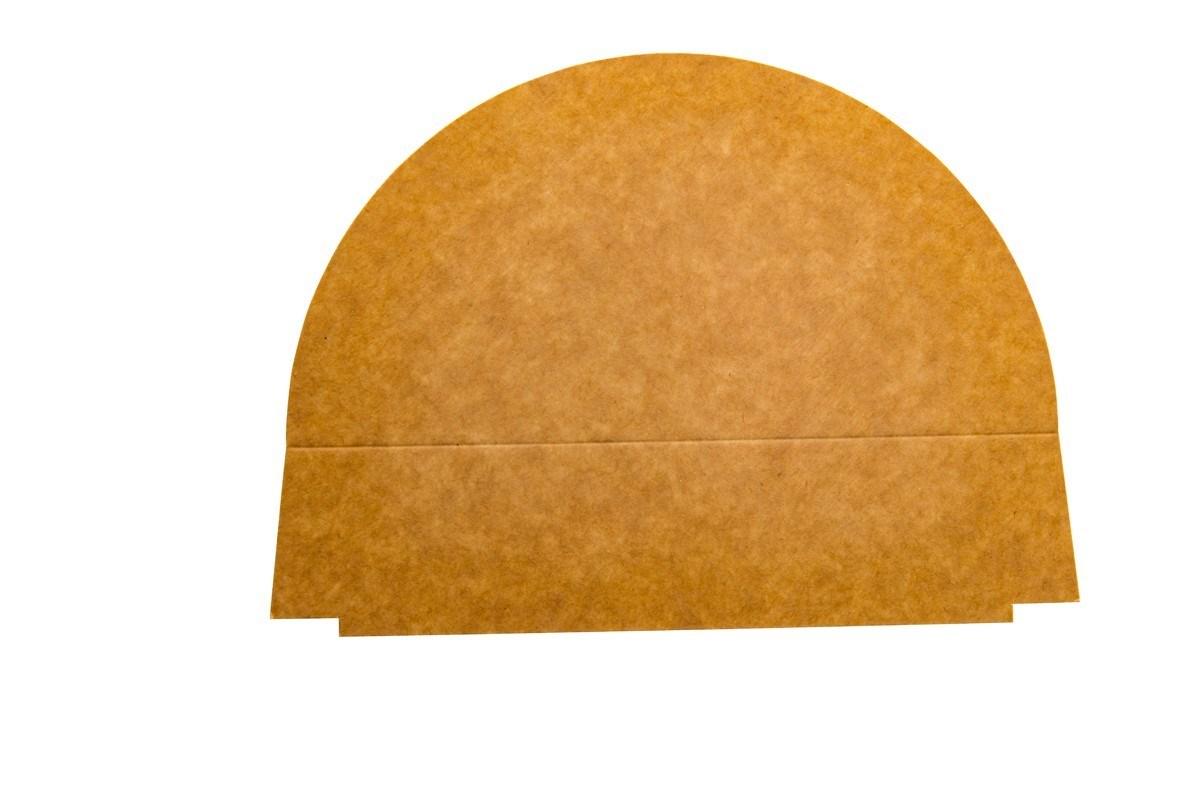 Productafbeelding 2-vaks PET/papieren deksel verdeler 900 ml 250 st