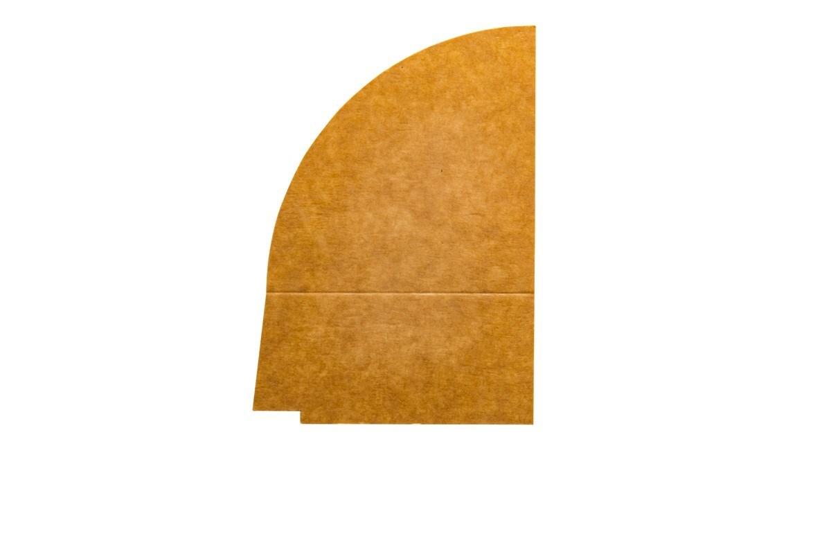 Productafbeelding 4-vaks PET/papieren deksel verdeler 900 ml 250 st