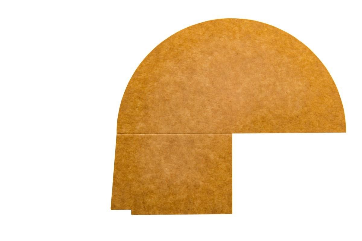 Productafbeelding 3-vaks PET/papieren deksel verdeler 1300 ml 250 st