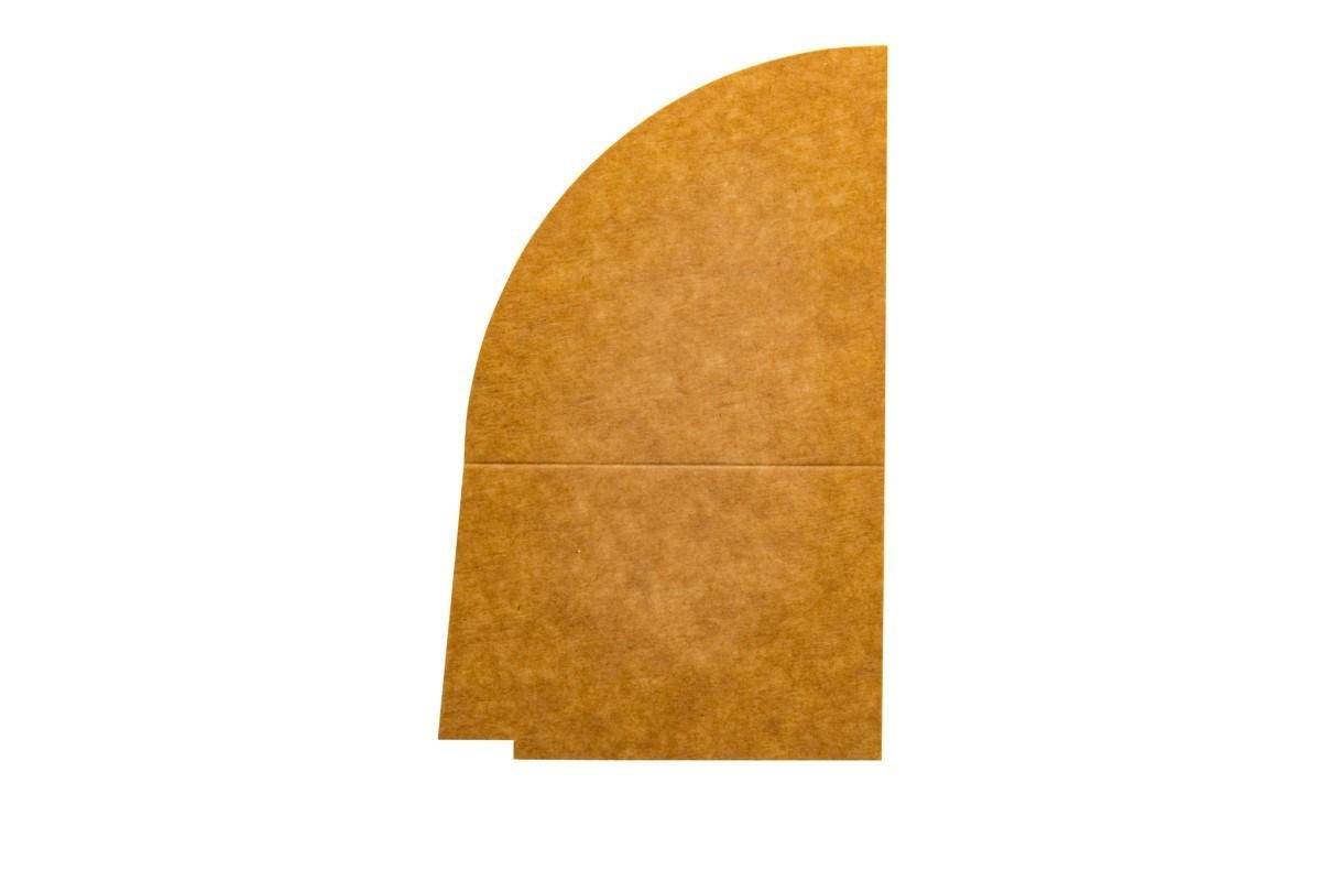 Productafbeelding 4-vaks PET/papieren deksel verdeler 1300 ml 250 st