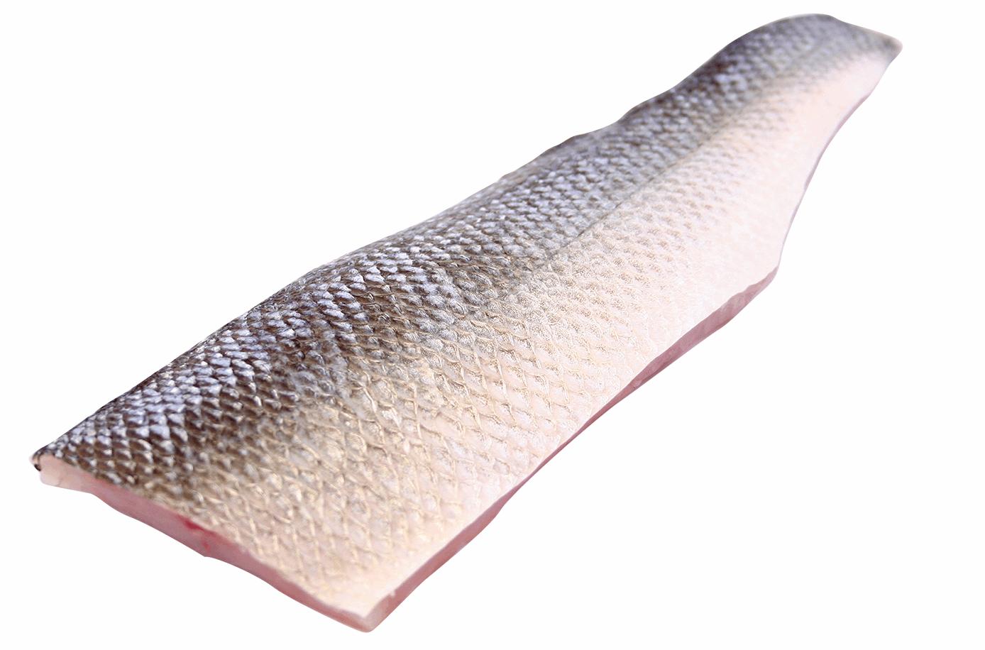 Productafbeelding WILD SEABASS FILET SKIN ON 600-900GR