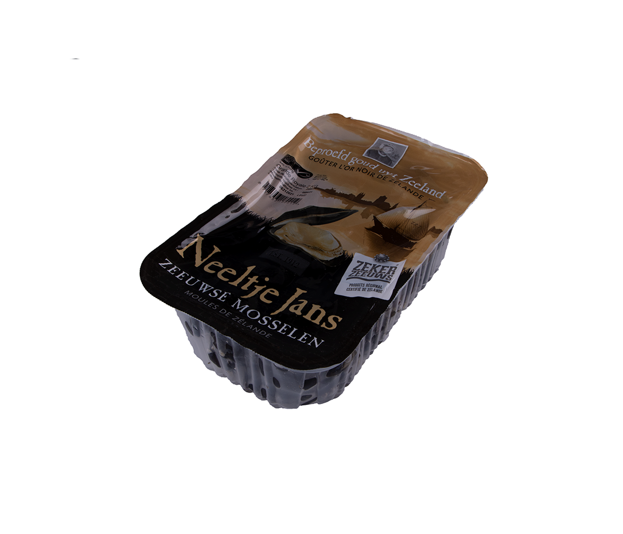 Productafbeelding MUSSELS HANGCULTURE SMALL PACKAGING 2 KG