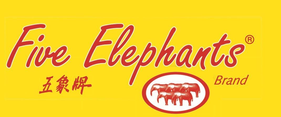 Merkafbeelding Five Elephants