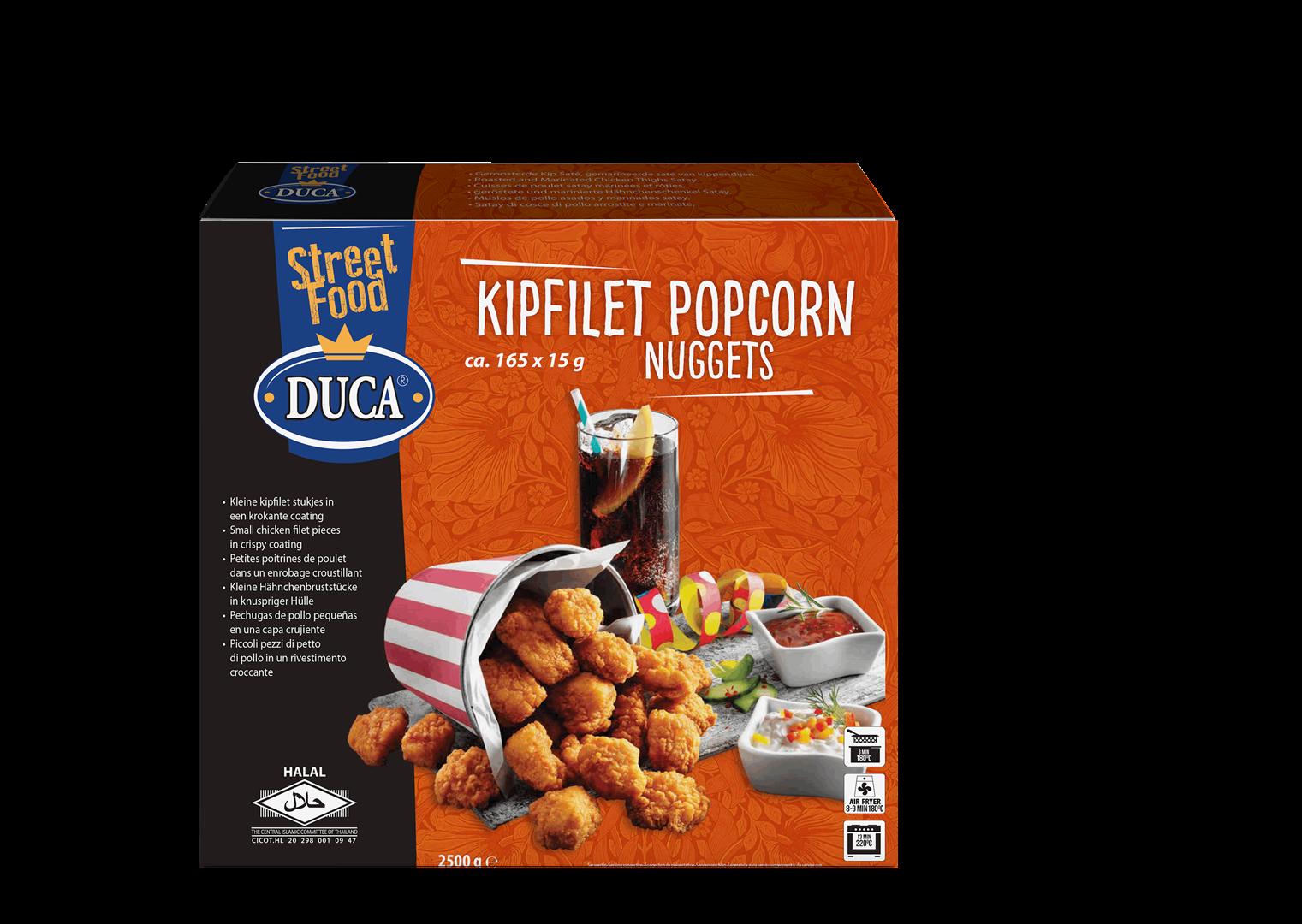 Productafbeelding Duca Kipfilet Popcorn Nuggets