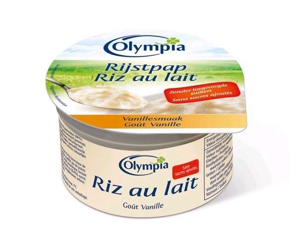 Productafbeelding Rijstpap vanillesmaak met zoetstoffen 100g