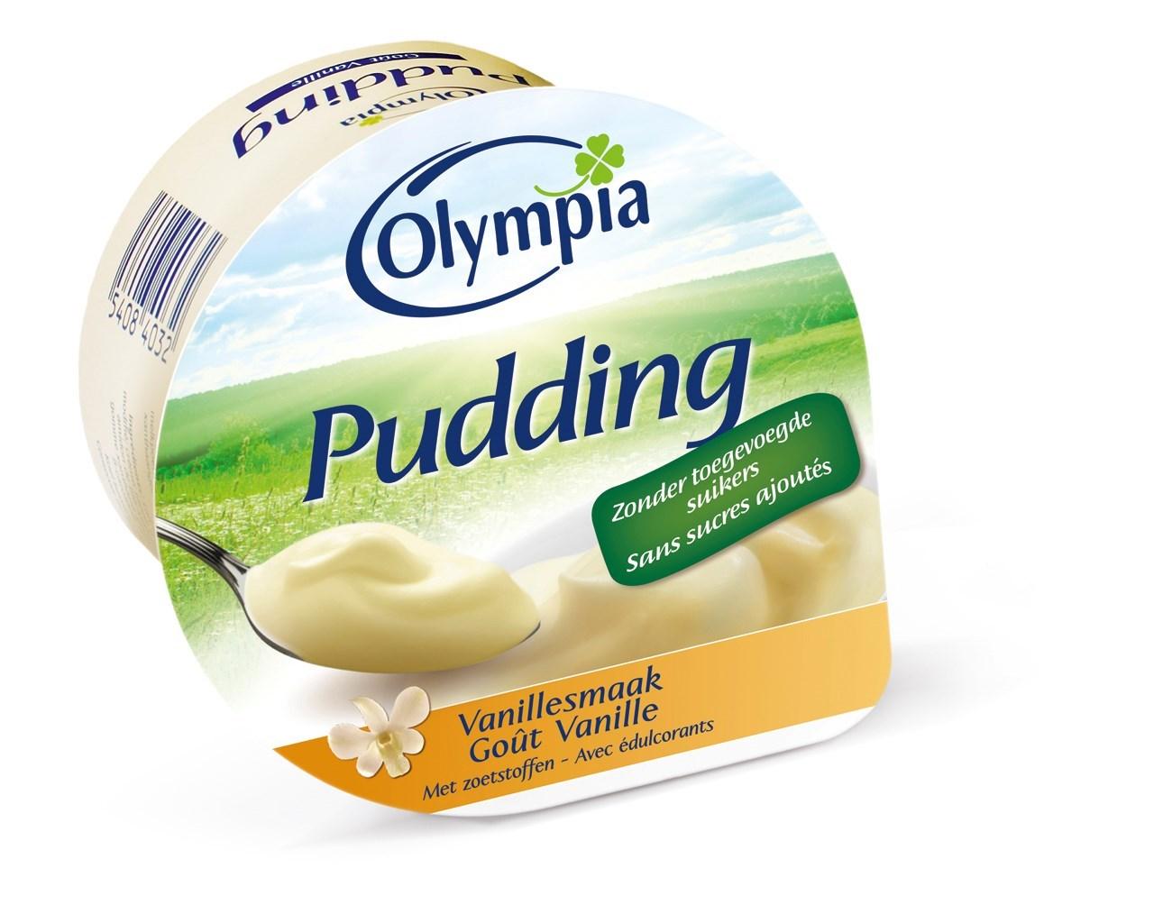 Productafbeelding Pudding vanillesmaak met zoetstoffen 100g
