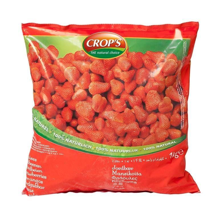 Productafbeelding Crop's Aardbeien (Senga Sengana) 1000 g