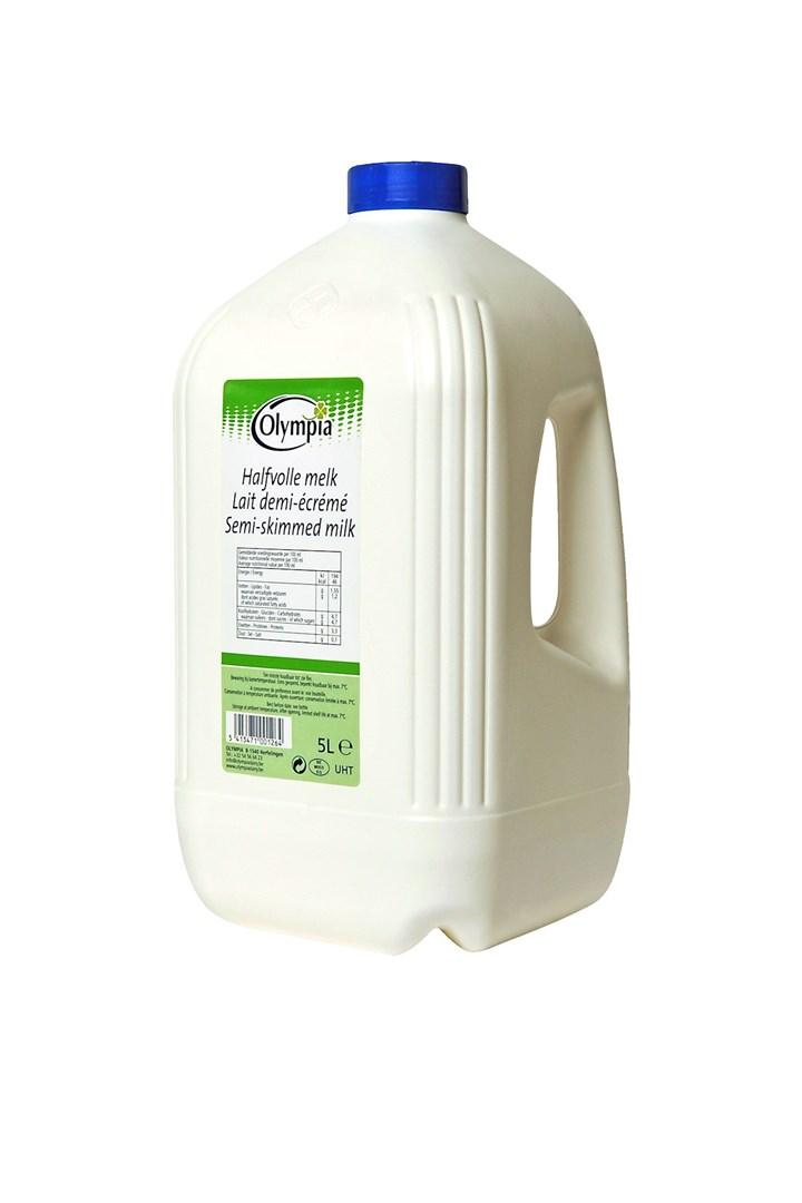 Productafbeelding Halfvolle melk UHT - 5L