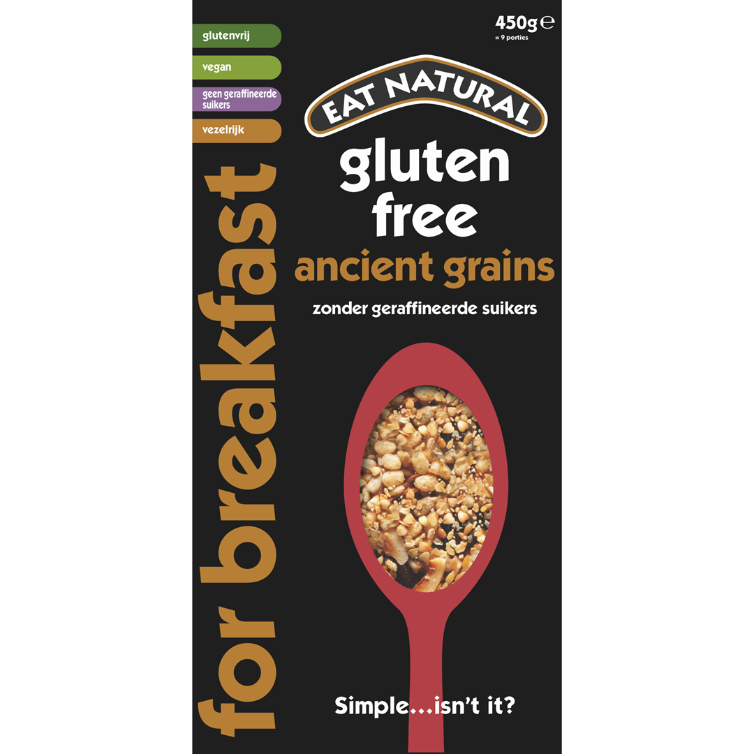 Productafbeelding Eat Natural For Breakfast Gluten Free Ancient Grains 450g