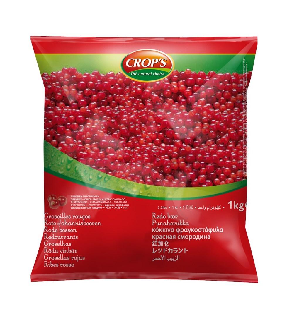 Productafbeelding Crop's Rode bessen 1000 g