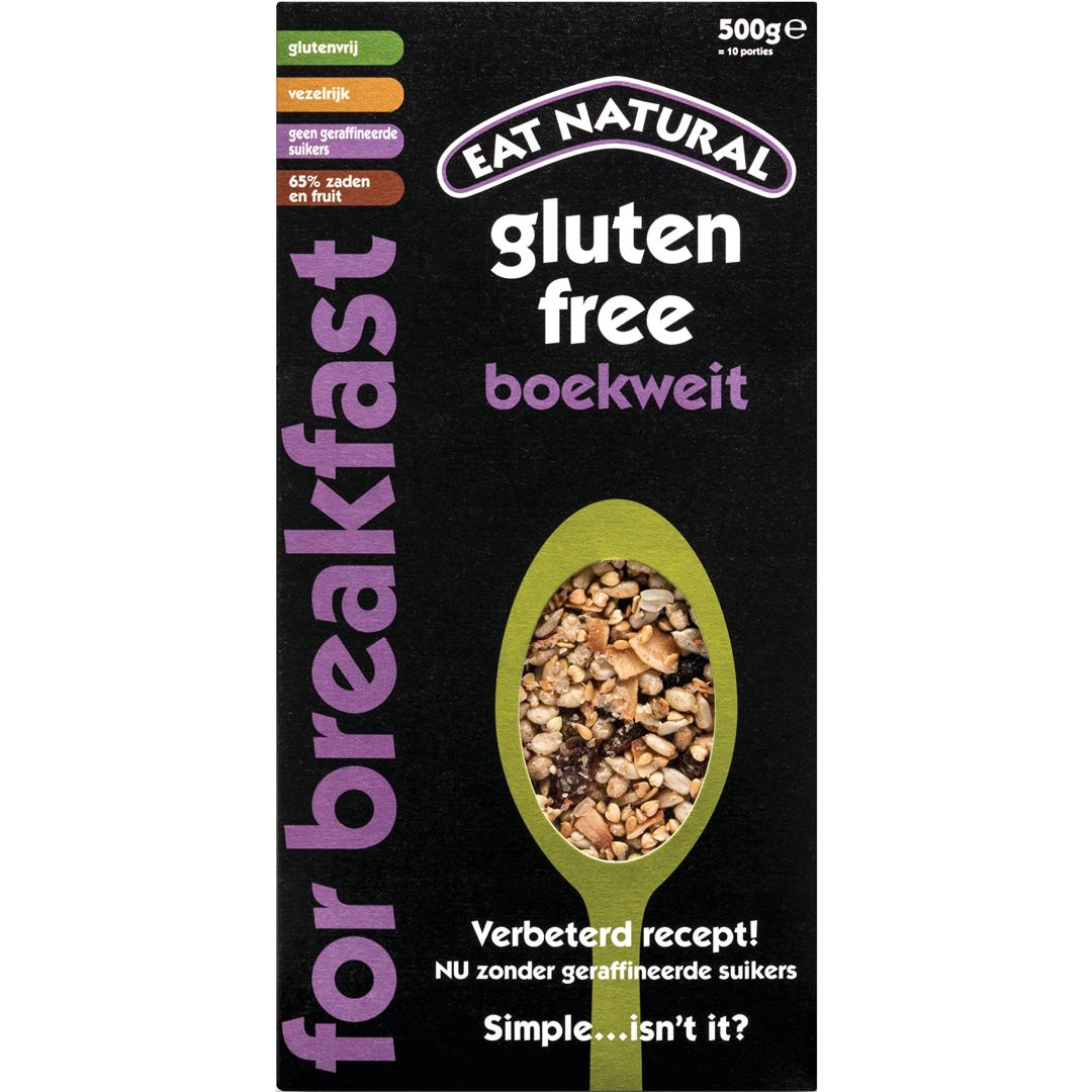 Productafbeelding Eat Natural For Breakfast Gluten Free Boekweit 500g