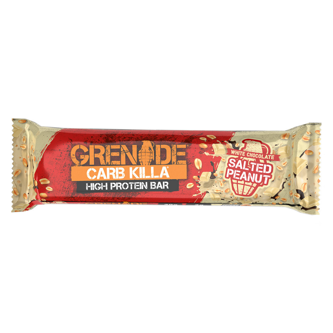 Productafbeelding Grenade Carb Killa High Protein Bar White Chocolate Salted Peanut 60g