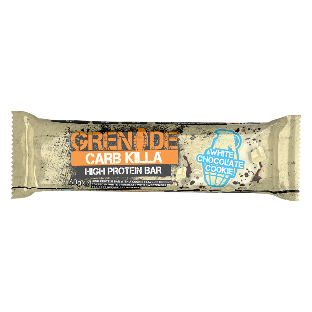 Productafbeelding Grenade Carb Killa High Protein Bar White Chocolate Cookie 60g