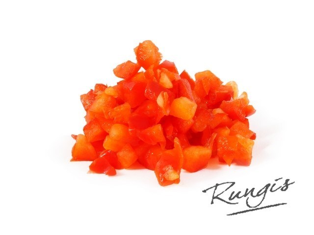Productafbeelding Rungis Paprika rood brunoise 10 mm