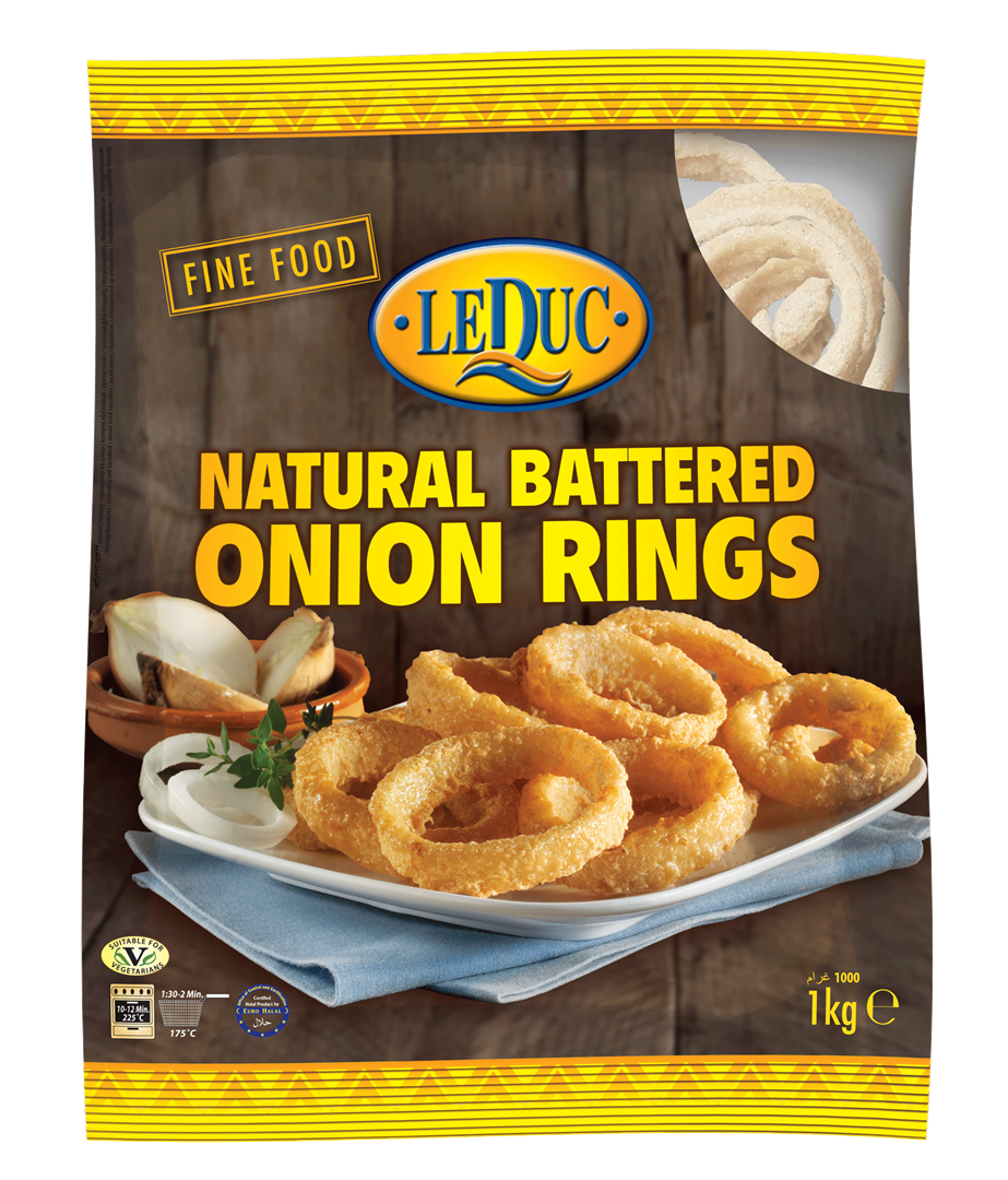 Productafbeelding Natural Battered Onion Rings
