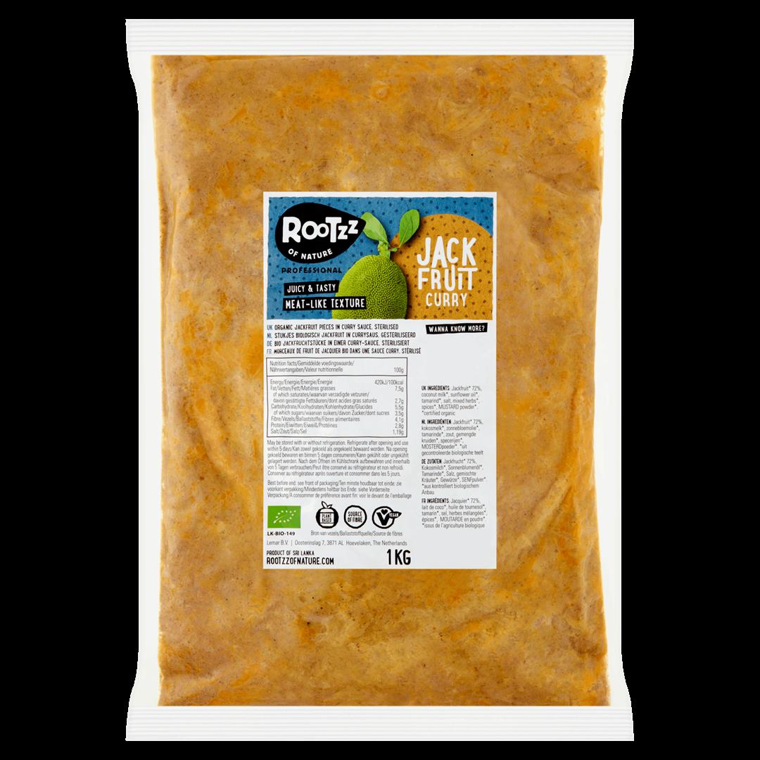 Productafbeelding Rootzz of Nature Biologisch Jackfruit Curry 1kg