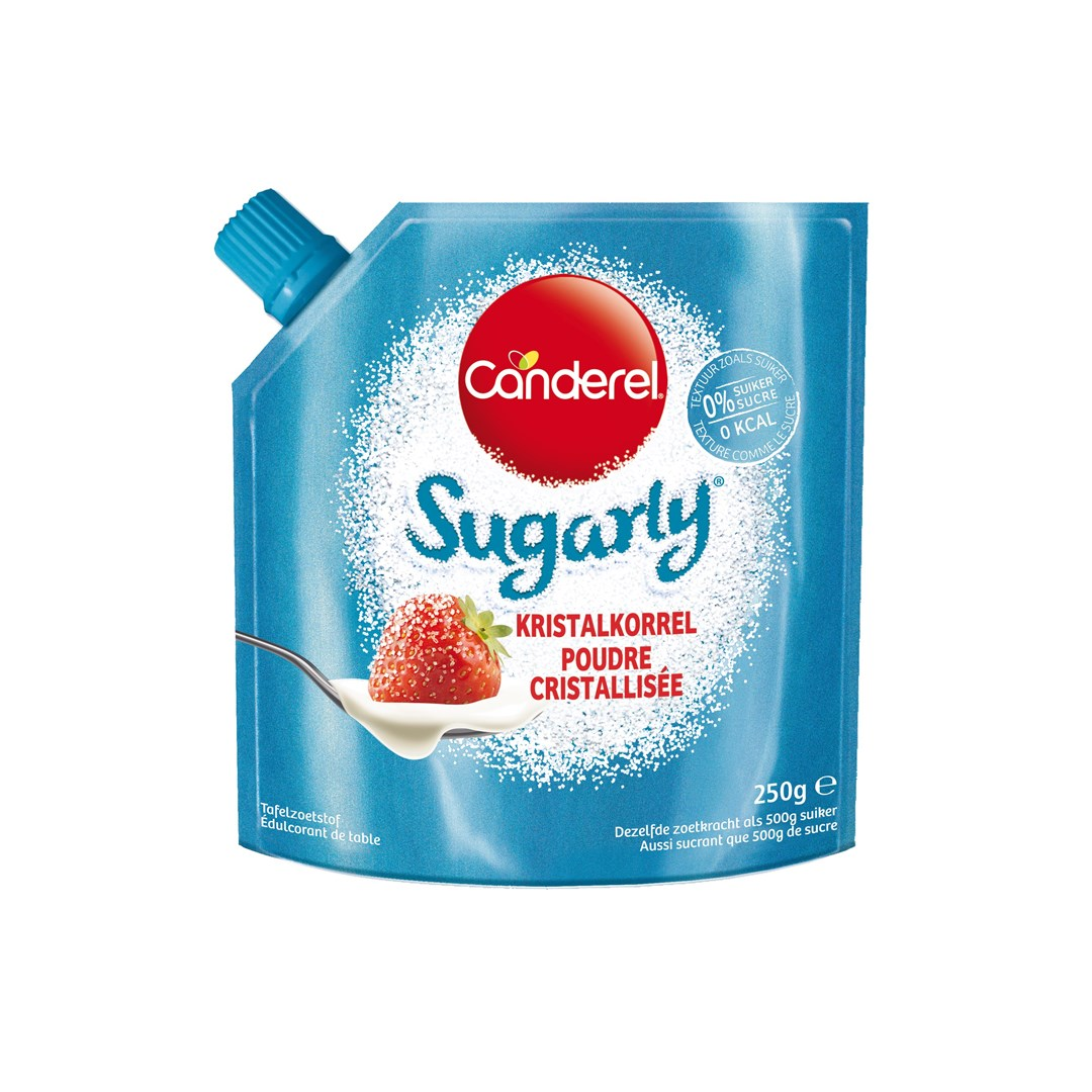 Productafbeelding CANDEREL Sugarly Pouch 250 gram