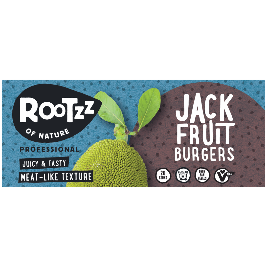 Productafbeelding Rootzz of Nature Jackfruit Burgers 2000g