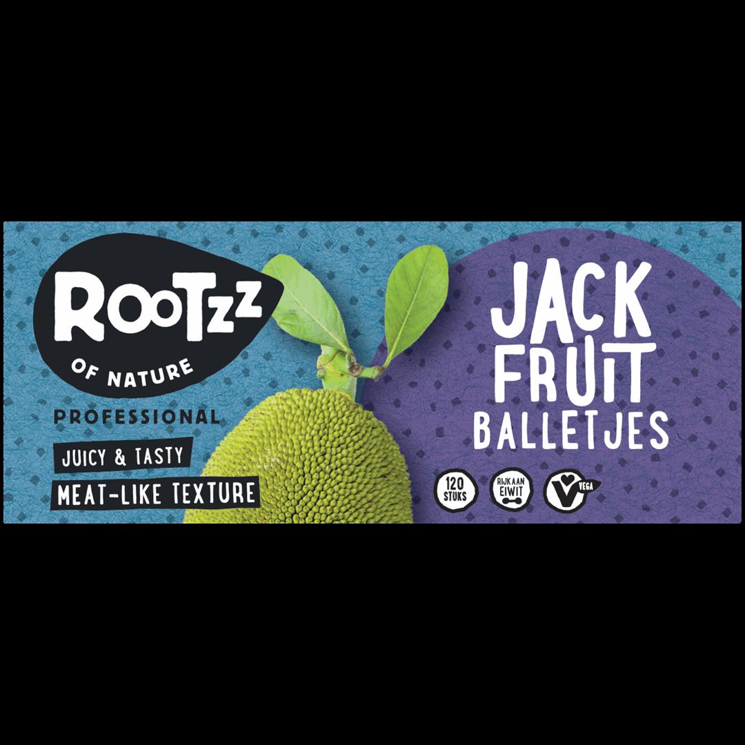 Productafbeelding Rootzz of Nature Jackfruit Balletjes 1920g