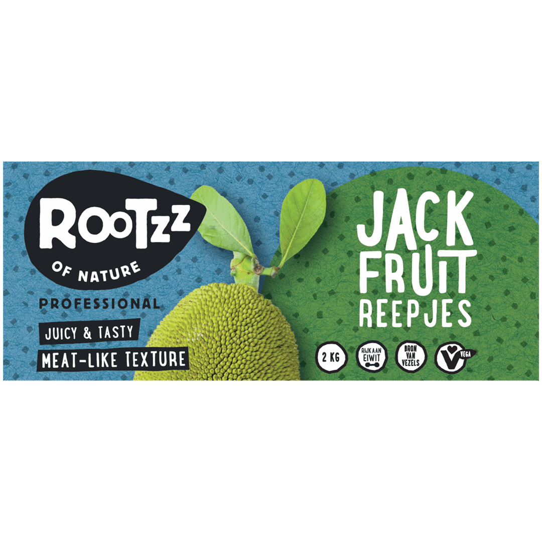Productafbeelding Rootzz of Nature Jackfruit Reepjes 2000g
