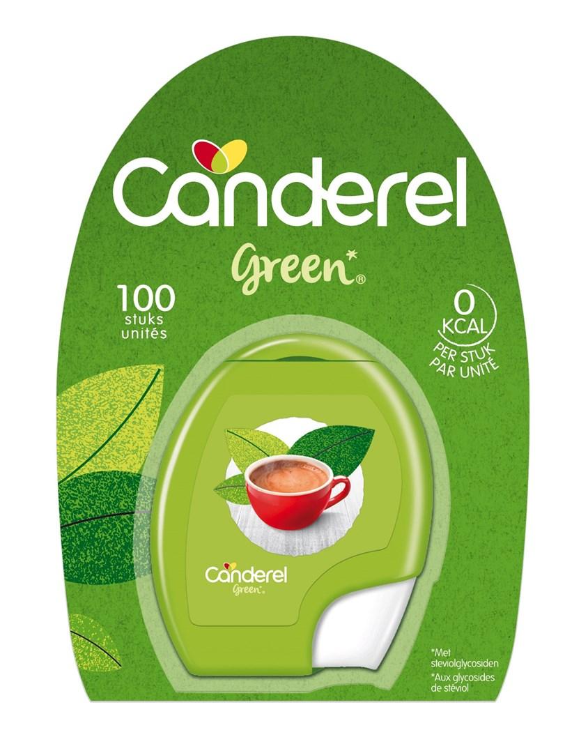 Productafbeelding Canderel Green tabletten 8,5gr