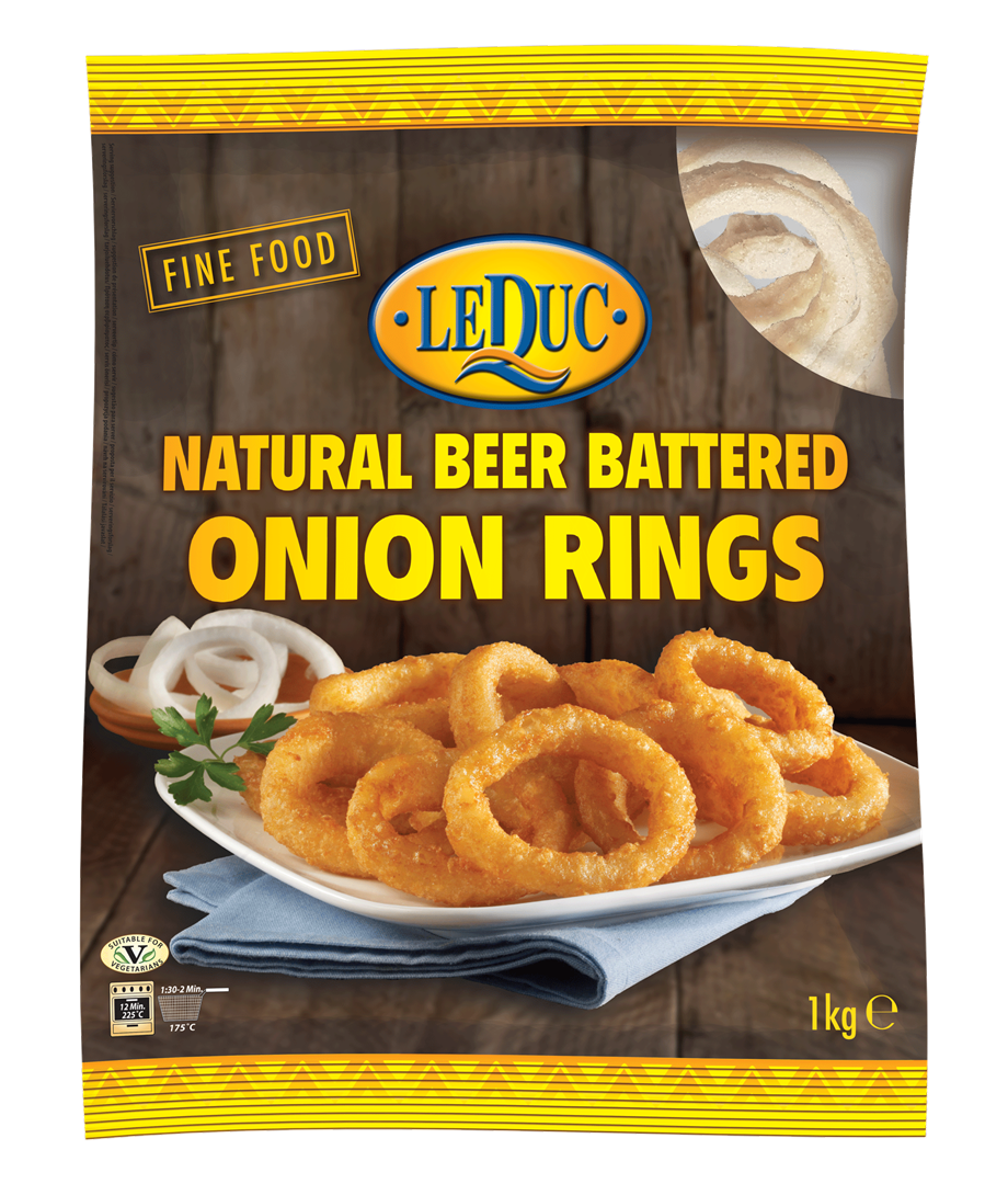 Productafbeelding Le Duc Beer Battered Onion Rings