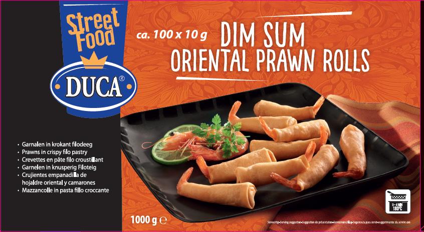 Productafbeelding Seafood oriental prawn roll