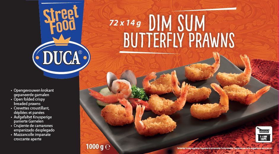 Productafbeelding Butterfly prawns