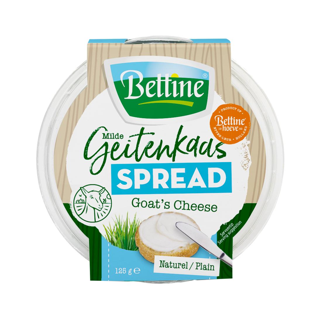 Productafbeelding Bettine geitenkaas spread naturel 125 g
