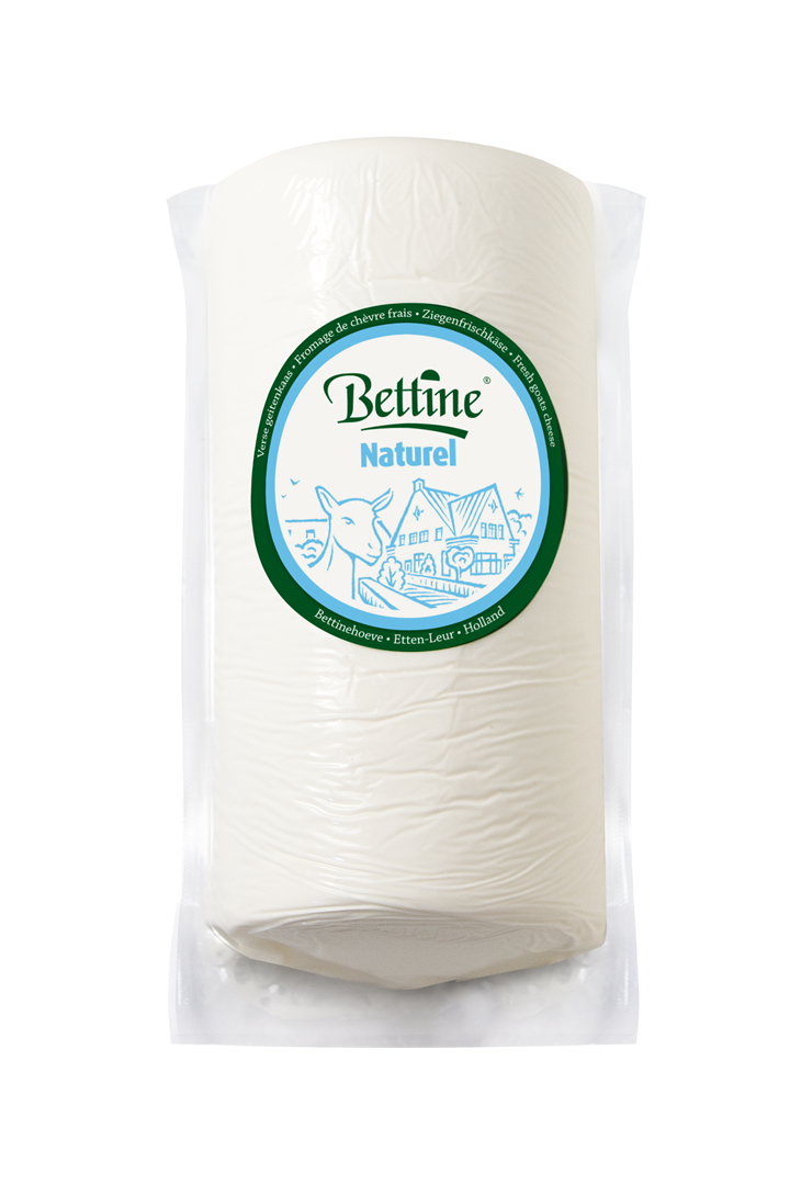 Productafbeelding Bettine geitenkaas naturel 1 kg